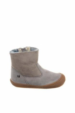 Παιδικά παπούτσια Naturino, Μέγεθος 24, Χρώμα Γκρί, Φυσικό σουέτ, Τιμή 48,38€