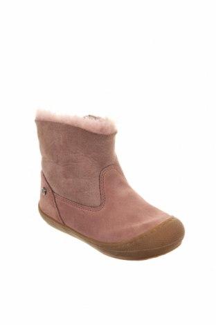 Παιδικά παπούτσια Naturino, Μέγεθος 24, Χρώμα Ρόζ , Φυσικό σουέτ, Τιμή 39,17€