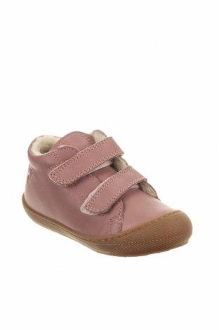 Παιδικά παπούτσια Naturino, Μέγεθος 25, Χρώμα Ρόζ , Γνήσιο δέρμα, Τιμή 29,44€