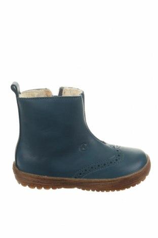 Παιδικά παπούτσια Naturino, Μέγεθος 24, Χρώμα Μπλέ, Γνήσιο δέρμα, Τιμή 42,87€