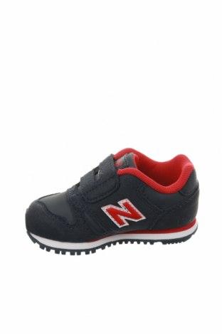 Παιδικά παπούτσια New Balance, Μέγεθος 20, Χρώμα Μπλέ, Δερματίνη, Τιμή 27,53€