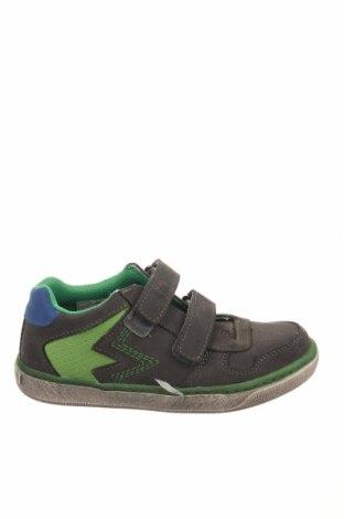 Παιδικά παπούτσια Pio, Μέγεθος 33, Χρώμα Γκρί, Φυσικό σουέτ, Τιμή 32,84€