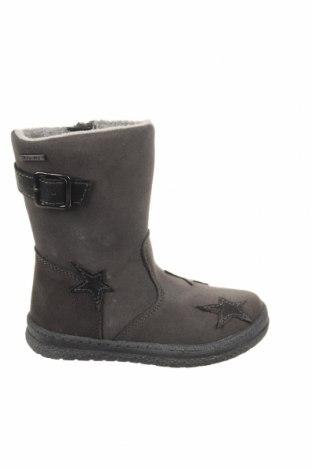 Детски обувки Pio, Размер 26, Цвят Сив, Естествен велур, Цена 76,45лв.