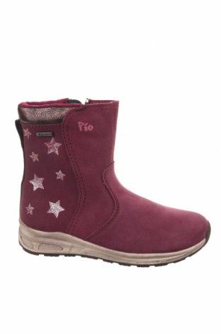 Παιδικά παπούτσια Pio, Μέγεθος 32, Χρώμα Βιολετί, Φυσικό σουέτ, δερματίνη, Τιμή 37,67€