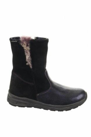 Παιδικά παπούτσια Pio, Μέγεθος 33, Χρώμα Μαύρο, Φυσικό σουέτ, δερματίνη, Τιμή 45,14€