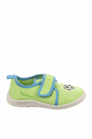 Παιδικά παπούτσια Playshoes, Μέγεθος 30, Χρώμα Πράσινο, Κλωστοϋφαντουργικά προϊόντα, Τιμή 13,39€