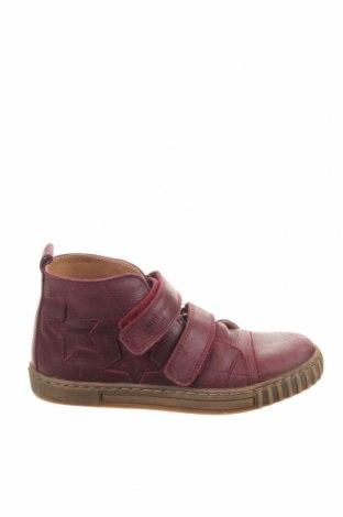 Παιδικά παπούτσια Pom Pom, Μέγεθος 33, Χρώμα Βιολετί, Γνήσιο δέρμα, Τιμή 17,58€