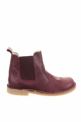 Παιδικά παπούτσια Pom Pom, Μέγεθος 35, Χρώμα Βιολετί, Γνήσιο δέρμα, Τιμή 26,47€