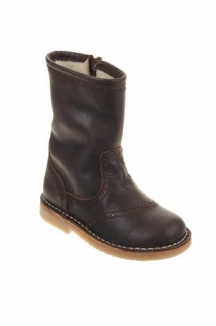 Παιδικά παπούτσια Pom Pom, Μέγεθος 24, Χρώμα Καφέ, Γνήσιο δέρμα, Τιμή 33,74€