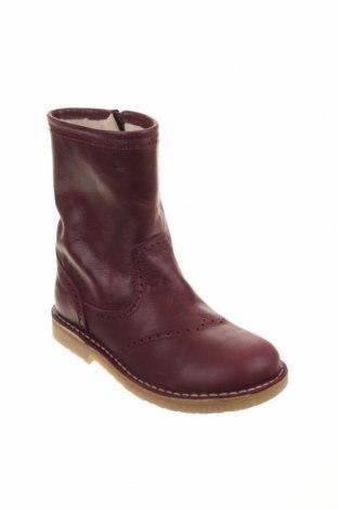 Παιδικά παπούτσια Pom Pom, Μέγεθος 32, Χρώμα Βιολετί, Γνήσιο δέρμα, Τιμή 36,80€