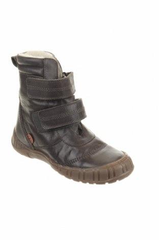 Παιδικά παπούτσια Pom Pom, Μέγεθος 32, Χρώμα Γκρί, Γνήσιο δέρμα, Τιμή 41,56€