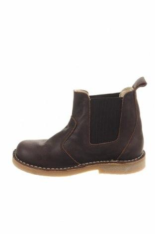 Παιδικά παπούτσια Pom Pom, Μέγεθος 30, Χρώμα Καφέ, Γνήσιο δέρμα, Τιμή 42,14€