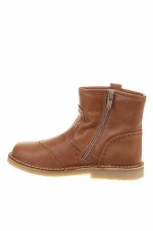 Παιδικά παπούτσια Pom Pom, Μέγεθος 33, Χρώμα Καφέ, Γνήσιο δέρμα, Τιμή 33,71€