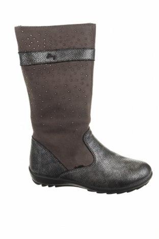 Παιδικά παπούτσια Primigi, Μέγεθος 32, Χρώμα Γκρί, Φυσικό σουέτ, γνήσιο δέρμα, Τιμή 32,07€