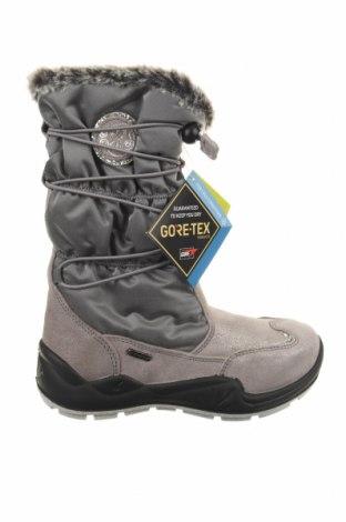 Παιδικά παπούτσια Primigi, Μέγεθος 31, Χρώμα Γκρί, Κλωστοϋφαντουργικά προϊόντα, φυσικό σουέτ, Τιμή 35,40€