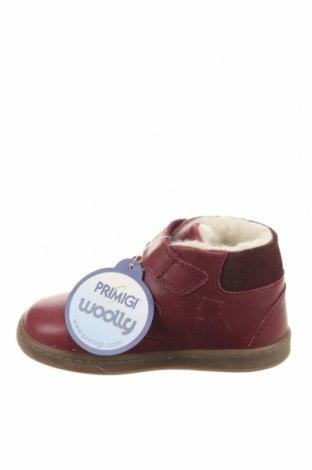 Παιδικά παπούτσια Primigi, Μέγεθος 23, Χρώμα Κόκκινο, Γνήσιο δέρμα, Τιμή 27,21€