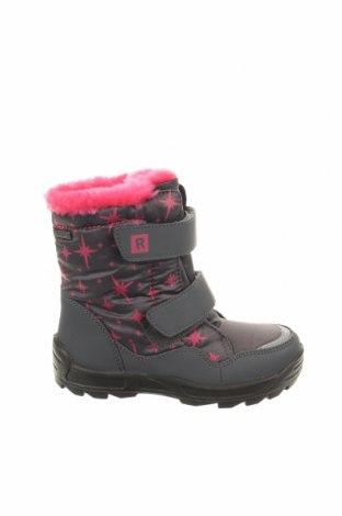 Παιδικά παπούτσια Richter, Μέγεθος 27, Χρώμα Γκρί, Δερματίνη, κλωστοϋφαντουργικά προϊόντα, Τιμή 27,53€