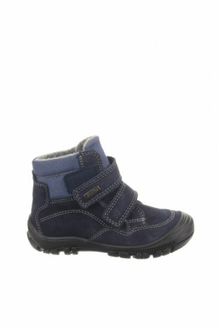 Παιδικά παπούτσια Richter, Μέγεθος 25, Χρώμα Μπλέ, Φυσικό σουέτ, κλωστοϋφαντουργικά προϊόντα, Τιμή 22,40€