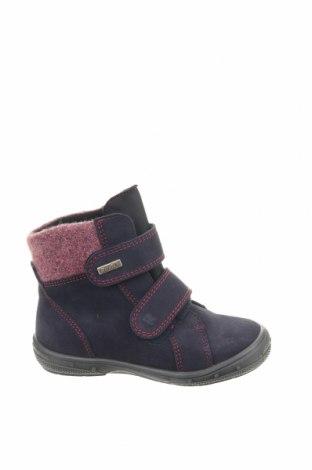 Παιδικά παπούτσια Richter, Μέγεθος 26, Χρώμα Μπλέ, Φυσικό σουέτ, κλωστοϋφαντουργικά προϊόντα, Τιμή 24,32€