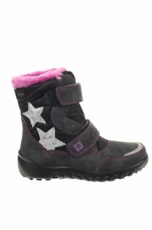 Παιδικά παπούτσια Richter, Μέγεθος 32, Χρώμα Μαύρο, Κλωστοϋφαντουργικά προϊόντα, δερματίνη, Τιμή 26,61€