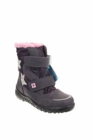 Παιδικά παπούτσια Richter, Μέγεθος 34, Χρώμα Βιολετί, Κλωστοϋφαντουργικά προϊόντα, δερματίνη, Τιμή 28,90€