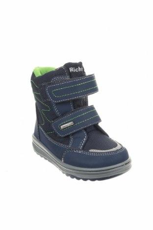 Παιδικά παπούτσια Richter, Μέγεθος 23, Χρώμα Μπλέ, Κλωστοϋφαντουργικά προϊόντα, δερματίνη, Τιμή 22,40€