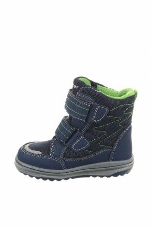 Παιδικά παπούτσια Richter, Μέγεθος 23, Χρώμα Μπλέ, Κλωστοϋφαντουργικά προϊόντα, δερματίνη, Τιμή 20,77€