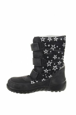 Παιδικά παπούτσια Richter, Μέγεθος 32, Χρώμα Μαύρο, Κλωστοϋφαντουργικά προϊόντα, δερματίνη, Τιμή 25,23€
