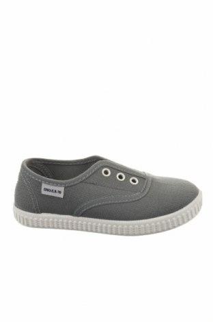 Παιδικά παπούτσια Sho.E.B. 76, Μέγεθος 28, Χρώμα Γκρί, Κλωστοϋφαντουργικά προϊόντα, Τιμή 12,56€