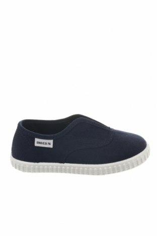 Παιδικά παπούτσια Sho.E.B. 76, Μέγεθος 26, Χρώμα Μπλέ, Κλωστοϋφαντουργικά προϊόντα, Τιμή 12,88€