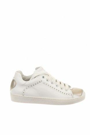 Παιδικά παπούτσια TWINSET, Μέγεθος 31, Χρώμα Λευκό, Γνήσιο δέρμα, Τιμή 41,56€
