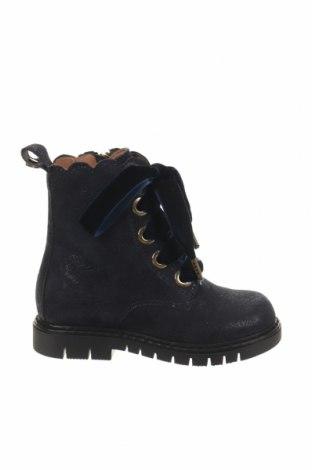 Παιδικά παπούτσια TWINSET, Μέγεθος 23, Χρώμα Μπλέ, Φυσικό σουέτ, Τιμή 32,24€