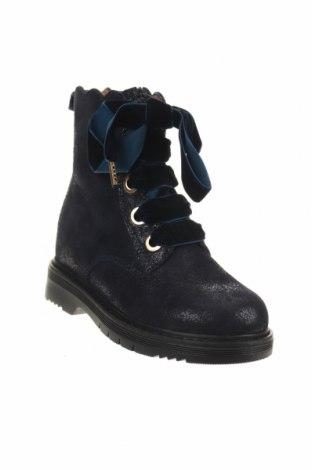 Παιδικά παπούτσια TWINSET, Μέγεθος 25, Χρώμα Μπλέ, Φυσικό σουέτ, Τιμή 32,24€