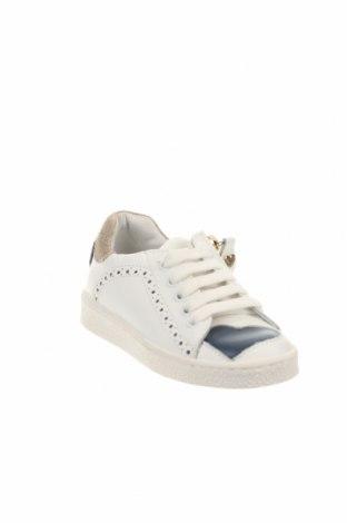 Παιδικά παπούτσια TWINSET, Μέγεθος 24, Χρώμα Λευκό, Γνήσιο δέρμα, φυσικό σουέτ, Τιμή 53,74€