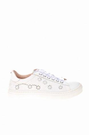 Παιδικά παπούτσια TWINSET, Μέγεθος 31, Χρώμα Λευκό, Γνήσιο δέρμα, κλωστοϋφαντουργικά προϊόντα, Τιμή 53,74€