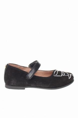 Παιδικά παπούτσια TWINSET, Μέγεθος 24, Χρώμα Μαύρο, Φυσικό σουέτ, Τιμή 41,56€