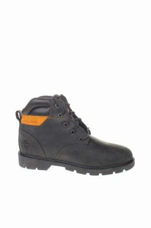 Παιδικά παπούτσια Timberland, Μέγεθος 35, Χρώμα Μαύρο, Γνήσιο δέρμα, φυσικό σουέτ, δερματίνη, Τιμή 58,45€