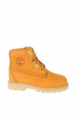 Παιδικά παπούτσια Timberland, Μέγεθος 24, Χρώμα Καφέ, Γνήσιο δέρμα, Τιμή 49,68€