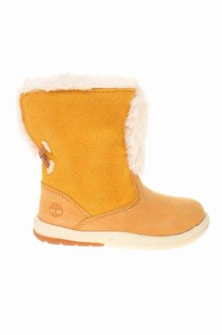 Παιδικά παπούτσια Timberland, Μέγεθος 23, Χρώμα  Μπέζ, Γνήσιο δέρμα, φυσικό σουέτ, Τιμή 56,50€