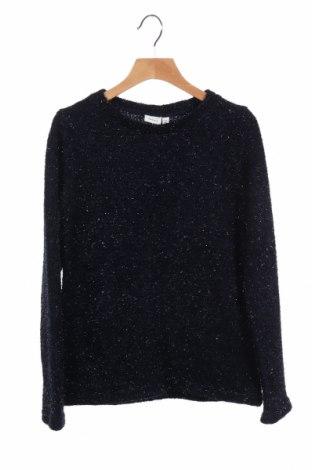 Παιδικό πουλόβερ Name It, Μέγεθος 8-9y/ 134-140 εκ., Χρώμα Μπλέ, 90% πολυεστέρας, 10% μεταλλικά νήματα, Τιμή 4,82€
