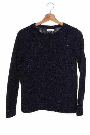 Παιδικό πουλόβερ Name It, Μέγεθος 10-11y/ 146-152 εκ., Χρώμα Μπλέ, 90% πολυεστέρας, 10% μεταλλικά νήματα, Τιμή 4,82€