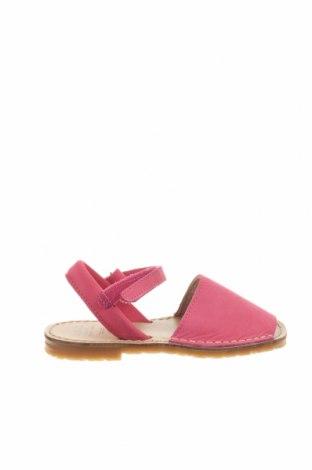 Детски сандали Avarca Menorquina, Размер 29, Цвят Розов, Естествена кожа, Цена 35,55лв.