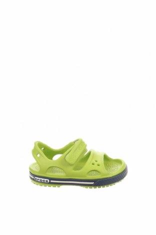 Παιδικά σανδάλια Crocs, Μέγεθος 19, Χρώμα Πράσινο, Πολυουρεθάνης, Τιμή 23,72€