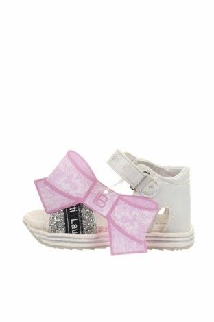 Παιδικά σανδάλια Laura Biagiotti, Μέγεθος 24, Χρώμα Πολύχρωμο, Κλωστοϋφαντουργικά προϊόντα, Τιμή 26,38€
