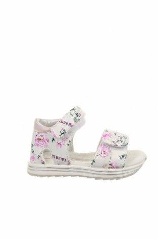 Детски сандали Laura Biagiotti, Размер 23, Цвят Многоцветен, Текстил, Цена 89,25лв.