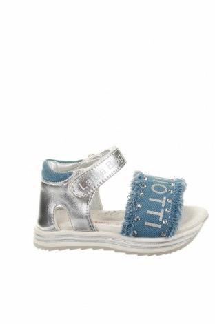 Παιδικά σανδάλια Laura Biagiotti, Μέγεθος 21, Χρώμα Μπλέ, Δερματίνη, κλωστοϋφαντουργικά προϊόντα, Τιμή 46,01€