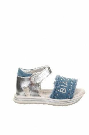 Παιδικά σανδάλια Laura Biagiotti, Μέγεθος 23, Χρώμα Μπλέ, Δερματίνη, κλωστοϋφαντουργικά προϊόντα, Τιμή 31,20€