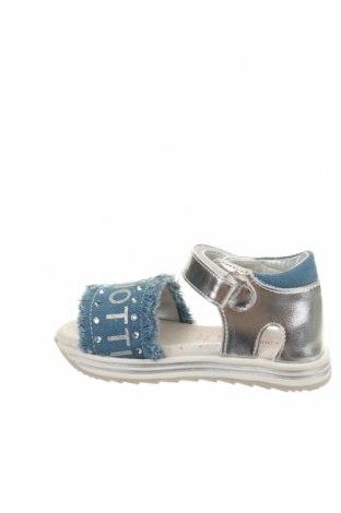 Παιδικά σανδάλια Laura Biagiotti, Μέγεθος 23, Χρώμα Μπλέ, Δερματίνη, κλωστοϋφαντουργικά προϊόντα, Τιμή 29,82€