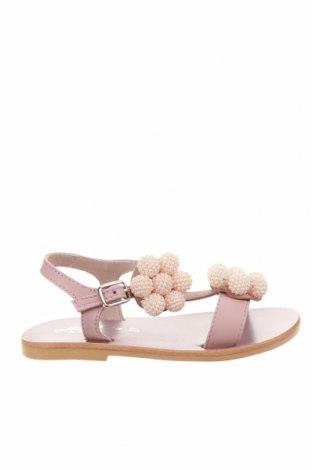 Детски сандали Oca-Loca, Размер 27, Цвят Розов, Естествена кожа, Цена 44,25лв.