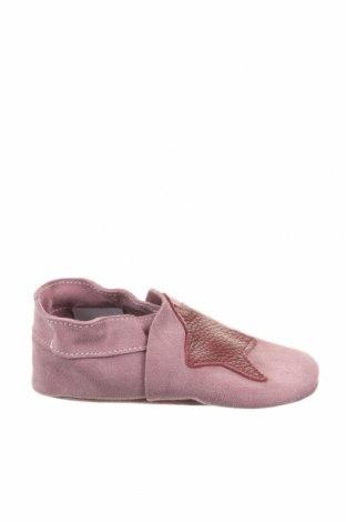 Παντόφλες Lamino, Μέγεθος 24, Χρώμα Ρόζ , Φυσικό σουέτ, Τιμή 18,85€